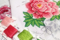 ▫ Mouline Embroidery Kits