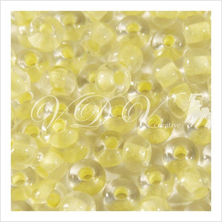 Beads 6/0 № 68181 / 662 (color lined)