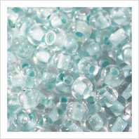 Beads 6/0 № 68132 / 666 (color lined)