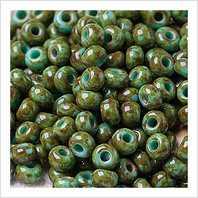 Beads 6/0 № 69130 / 6053 (travertine)
