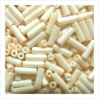 """Bugle beads 3"""" № 46113 / 912 (shell)"""