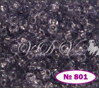 Beads 10/0 № 01221 / 801 (crystal)