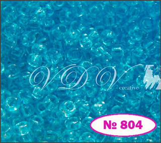 Beads 10/0 № 01234 / 804 (crystal)