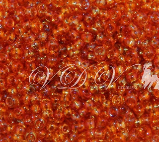 Beads 10/0 № 11070 / 744 (transparent versicolor)