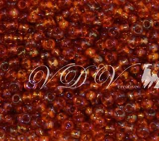 Beads 10/0 № 11090 / 745 (transparent versicolor)