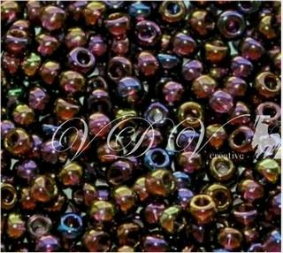 Beads 10/0 № 11110 / 746 (transparent versicolor)