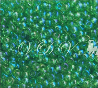 Beads 10/0 № 51100 / 758 (transparent versicolor)