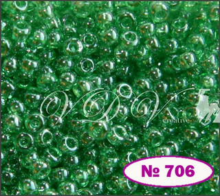 Beads 10/0 № 56100 / 706 (glazed)