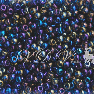 Beads 10/0 № 61100 / 768 (transparent versicolor)
