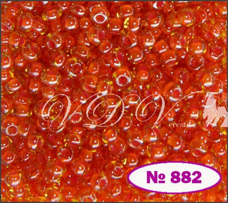 Beads 10/0 № 81393 / 882 (chameleon)