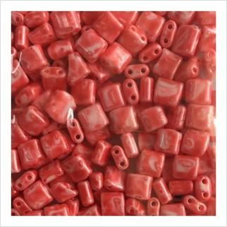 Karo beads 5х5 mm №2016 (shell marble)
