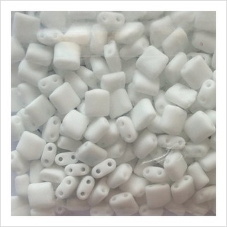Karo beads 5х5 mm №2019 (natural matt)