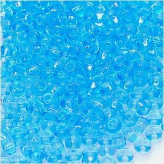 Micro beads 15/0 № 60000n (transparent)