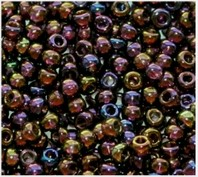 Beads 10/0 № 11110 / 746 (transparent versicolor)