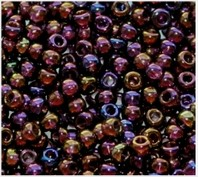 Beads 10/0 № 11140 / 747 (transparent versicolor)