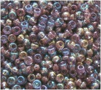 Beads 10/0 № 21010 / 748 (transparent versicolor)