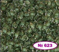 Beads 10/0 № 38359 / 623 (colored)