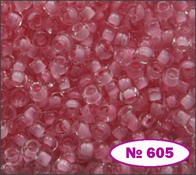 Beads 10/0 № 38394 / 605 (colored)