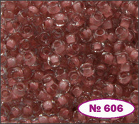 Beads 10/0 № 38395 / 606 (colored)