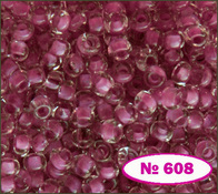 Beads 10/0 № 38398 / 608 (colored)