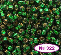 Beads 10/0 № 57060 / 322 (lustrous)