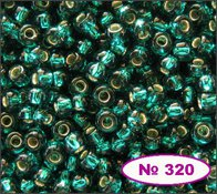 Beads 10/0 № 57710 / 320 (lustrous)