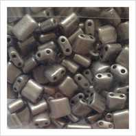 Karo beads 5х5 mm №2010 (metallic)