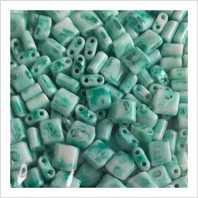Karo beads 5х5 mm №2015 (shell marble)
