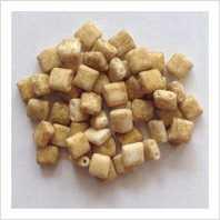 Karo beads 5х5 mm №2020 (natural matt marble)
