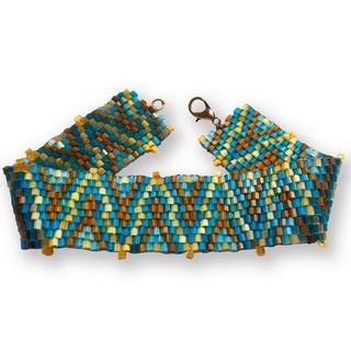 "DIY bead embroidery kit ""Bracelet"""
