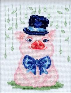 """Cross stitch embroidery kit """"Bambi"""""""