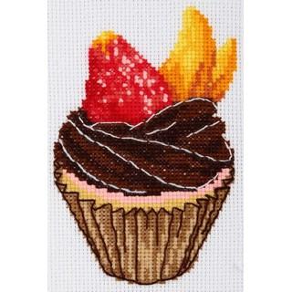 "Cross stitch embroidery kit ''Cake"""