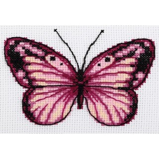 Cross stitch embroidery kit ''Butterfly""
