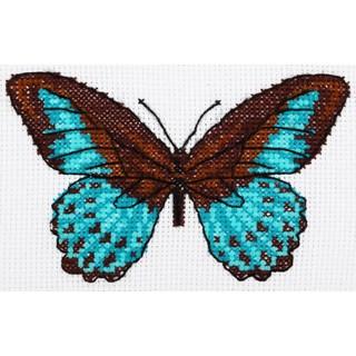 "Cross stitch embroidery kit ''Butterfly"""