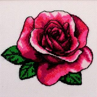 "Cross stitch embroidery kit ''Rose"""
