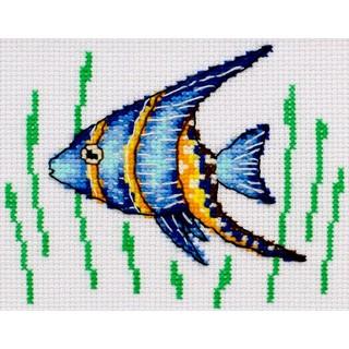 """Cross stitch embroidery kit ''Small Fish"""""""