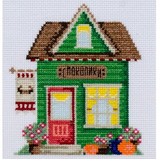"Cross stitch embroidery kit ""Delicacies House"""