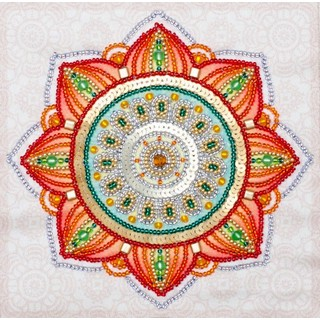 Free-form beads and sequins embroidery kit ''To Happiness!""