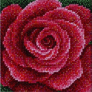 "Kit with seed beads ""Вright Passion"""