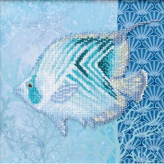 "Kit with seed beads ""Sea World"""