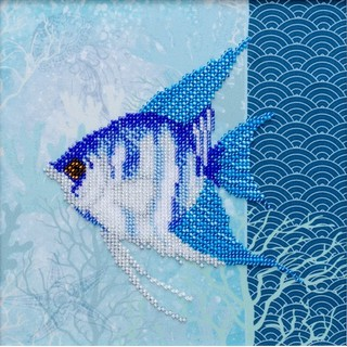 "Kit with seed beads ""Underwater Beauty"""