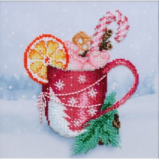 "Kit with seed beads ""Winter Comfort"""