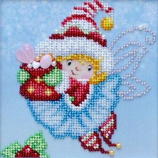 Kit with seed beads ''New Year Holiday""
