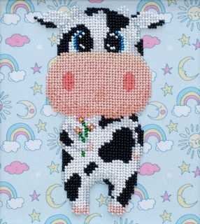 """Kit with seed beads ''Cow"""""""