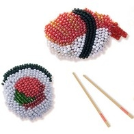 "Kit with seed beads ""Brooches"""