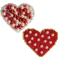 "DIY bead embroidery kit ""Brooches"""