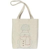 "Gift kit ''Handbag ""Snowman"""