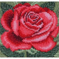 Cross stitch embroidery kit ''Rose""