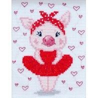 "Cross stitch embroidery kit ""Mimi"""