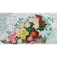 Cross stitch embroidery kit ''The Rose Vein""